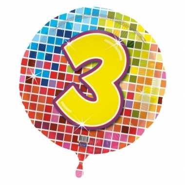 3 jaar gefeliciteerdballon