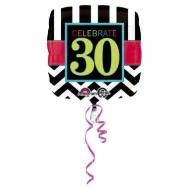 30 jaar geworden gevulde heliumballon