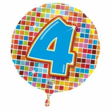 4 jaar gefeliciteerdballon