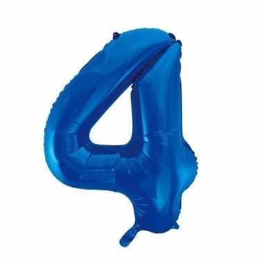 4 jaar versiering cijfer ballon
