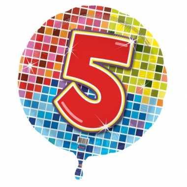5 jaar gefeliciteerdballon