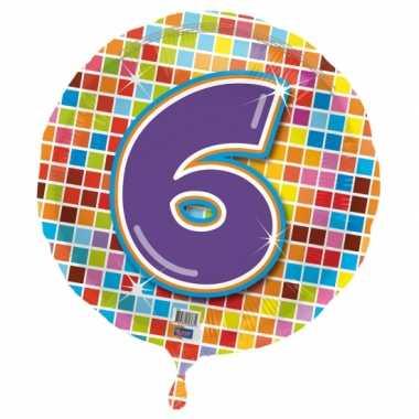 6 jaar gefeliciteerdballon