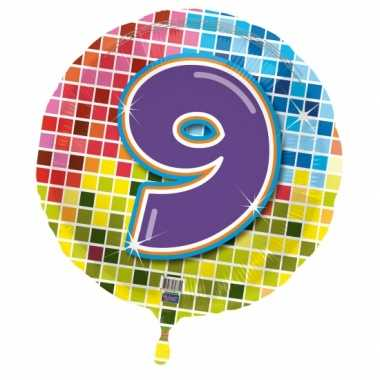 9 jaar gefeliciteerdballon