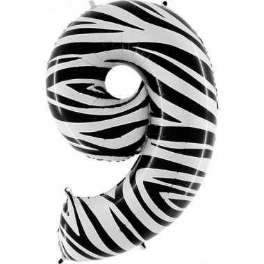 9 jaar versiering cijfer ballon
