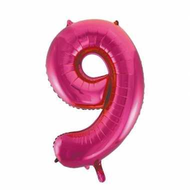 9 jaar versiering cijfer ballon 10108812