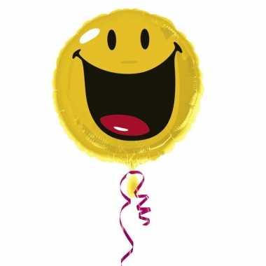 Ballon geschikt voor helium smiley