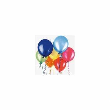 Feestservetten verjaardag ballonnen