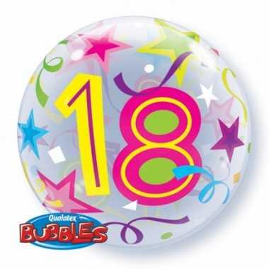 Gefeliciteerd ballon 18 jaar 56 cm
