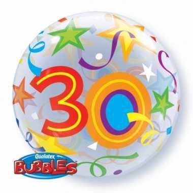 Gefeliciteerd ballon 30 jaar 56 cm
