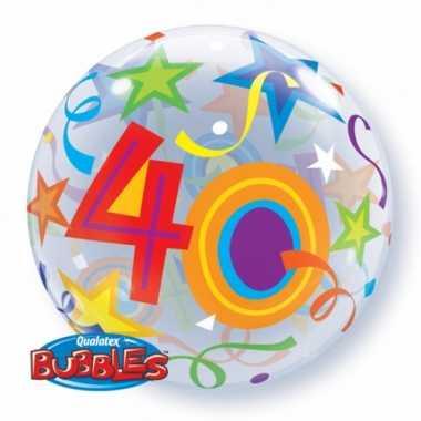 Gefeliciteerd ballon 40 jaar 56 cm