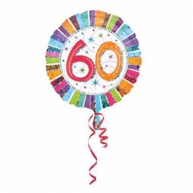 Gefeliciteerd ballon 60 jaar verjaardag