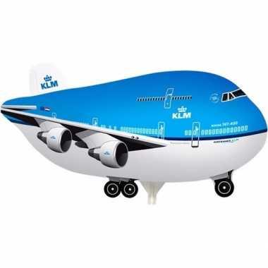 Gefeliciteerd ballon boeing 747 klm
