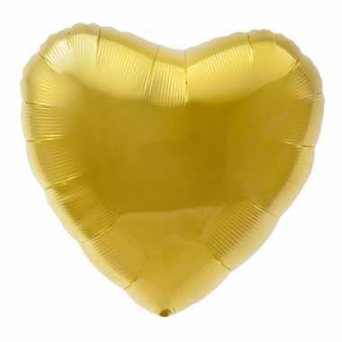 Gefeliciteerd ballon gouden hart