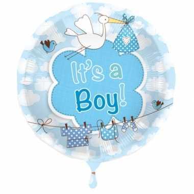 Gefeliciteerd ballon jongen geboren
