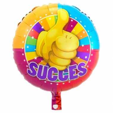 Gefeliciteerd ballon Succes 45 cm