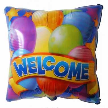 Gefeliciteerd ballon welkom