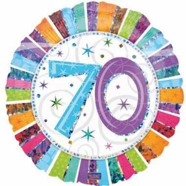 Gefeliciteerd ballonnen 70 jaar