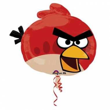 Gefeliciteerd ballonnen Angry Birds gevuld met helium