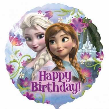 Gefeliciteerd ballonnen van Disney Frozen