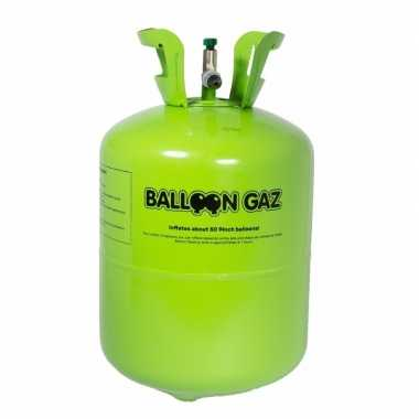 Helium tank voor 15 gefeliciteerd ballonnen