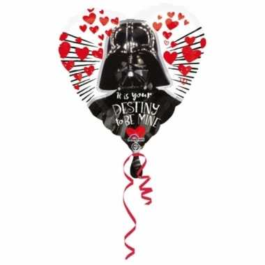 Star wars hartjes gefeliciteerd ballon 43cm