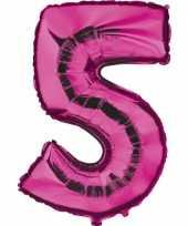 5 jaar versiering cijfer ballon 10062693