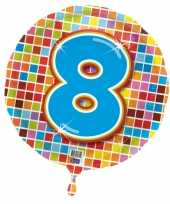 8 jaar gefeliciteerdballon