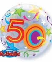 Gefeliciteerd ballon 50 jaar 56 cm
