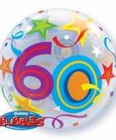 Gefeliciteerd ballon 60 jaar 56 cm