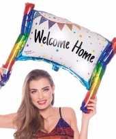 Gefeliciteerd ballon spandoek beschrijfbaar