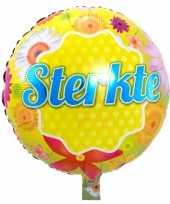 Gefeliciteerd ballon sterkte 45 cm