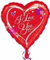 Gefeliciteerd ballonnen love