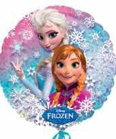 Gefeliciteerd ballonnen van disney frozen 10054662
