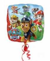 Paw patrol gefeliciteerd ballon