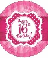Verjaardagskado 16 jaar ballon