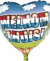 Welkom thuis gefeliciteerd ballon helium